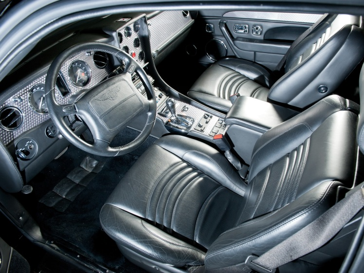 1996 Bentley Continental T (interior)