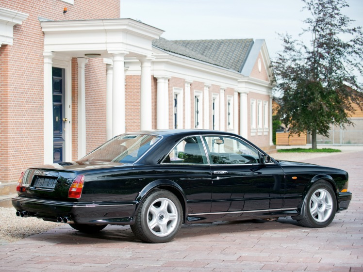 1996 Bentley Continental T (rear)