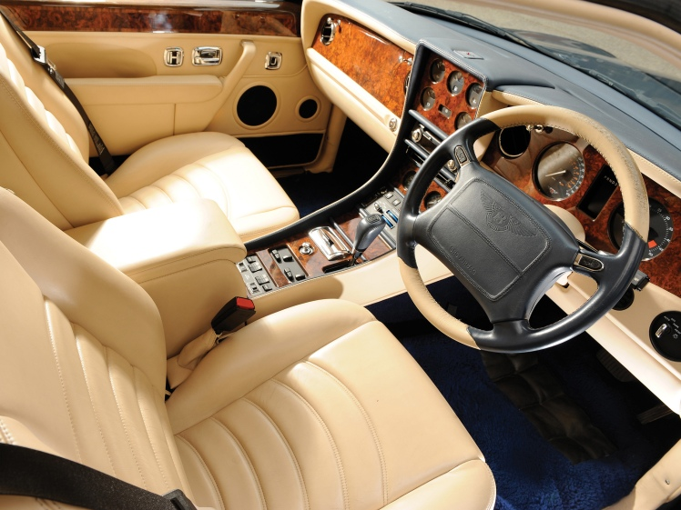 1999 Bentley Continental R Mulliner (interior)
