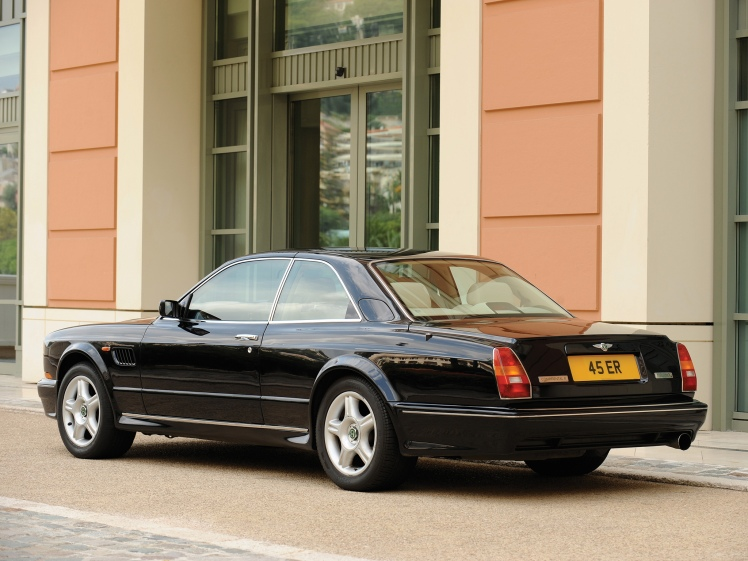 1999 Bentley Continental R Mulliner (rear)
