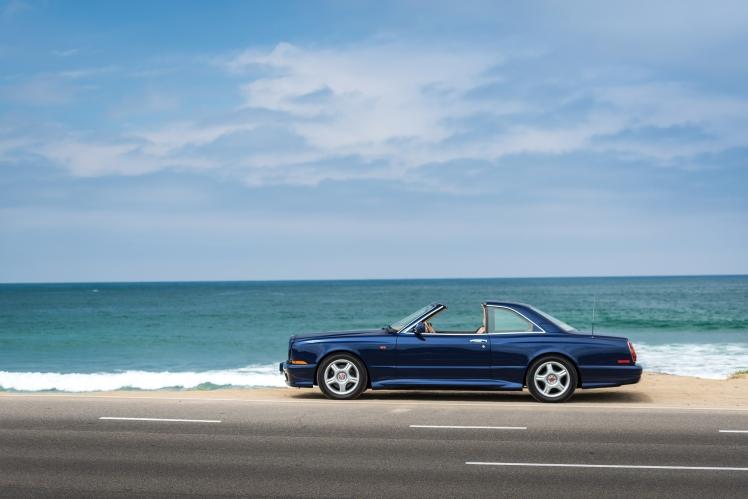 1999 Bentley Continental SC (blue) profile
