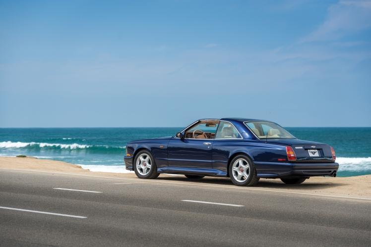 1999 Bentley Continental SC (blue) rear