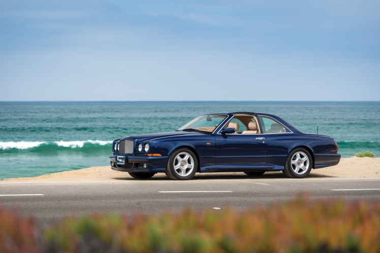 1999 Bentley Continental SC (blue)