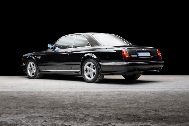 1999 Bentley Continental T Mulliner (rear)
