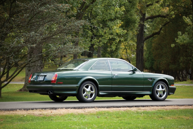 2000 Bentley Continental R Millenium Edition (rear)