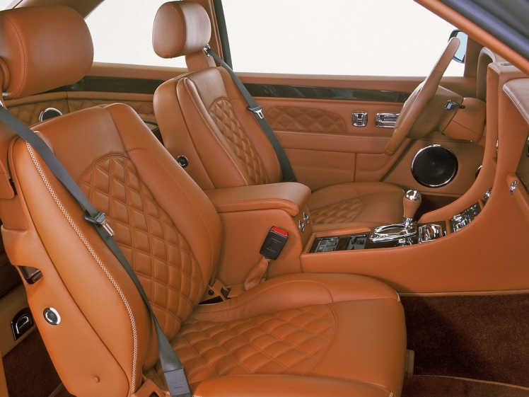 2001 Bentley Continental T Le Mans (interior)