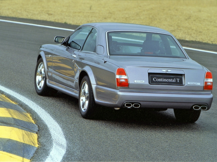 2001 Bentley Continental T Le Mans (rear)