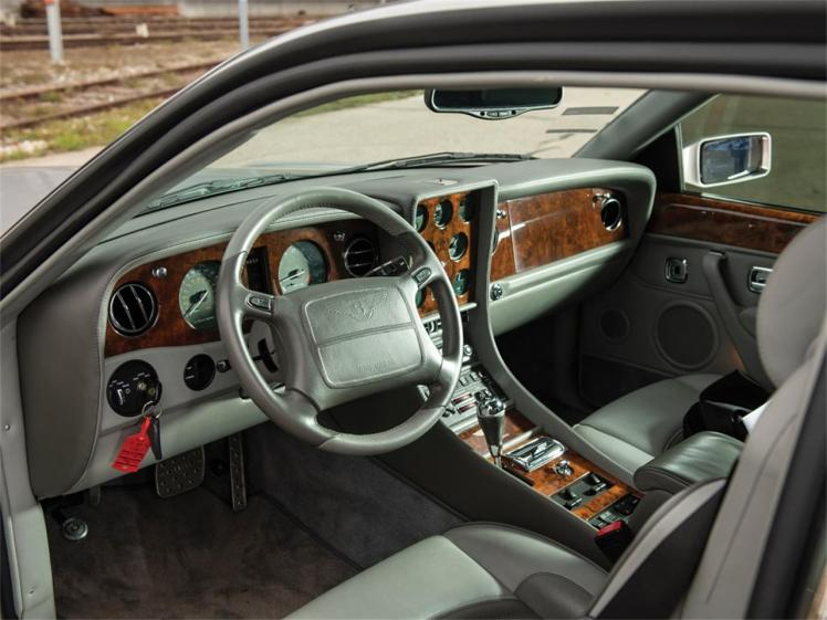2002 Bentley Continental R Le Mans (interior)