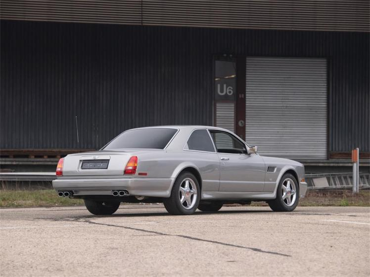 2002 Bentley Continental R Le Mans (rear)