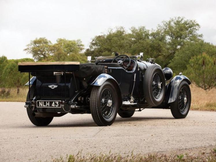Bentley 8 Litre Tourer (rear)