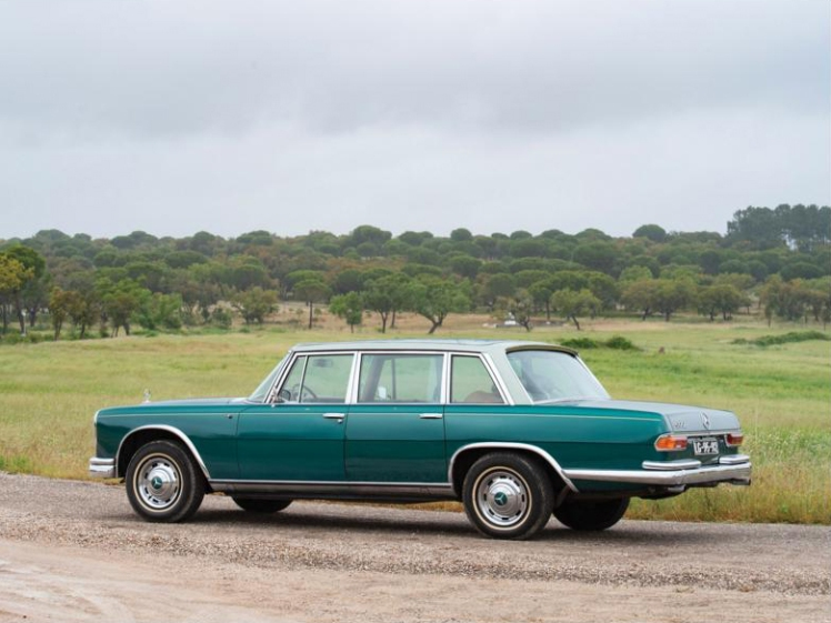 Mercedes Benz 600 by Chapron (rear)