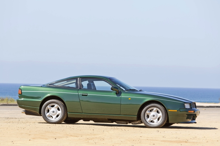 Aston Martin Virage (profile)