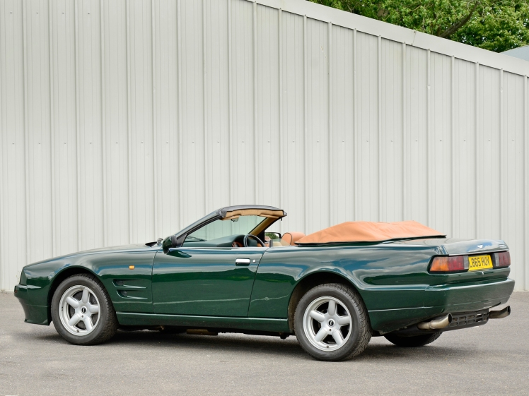 Aston Martin Virage Volante (rear)
