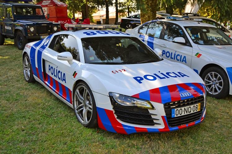 Audi R8 Portuguese Police (1)