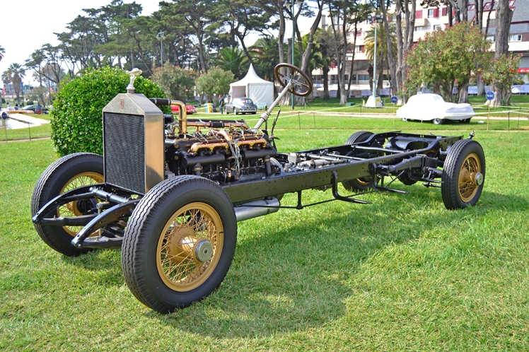 Rolls Royce rollig chassis