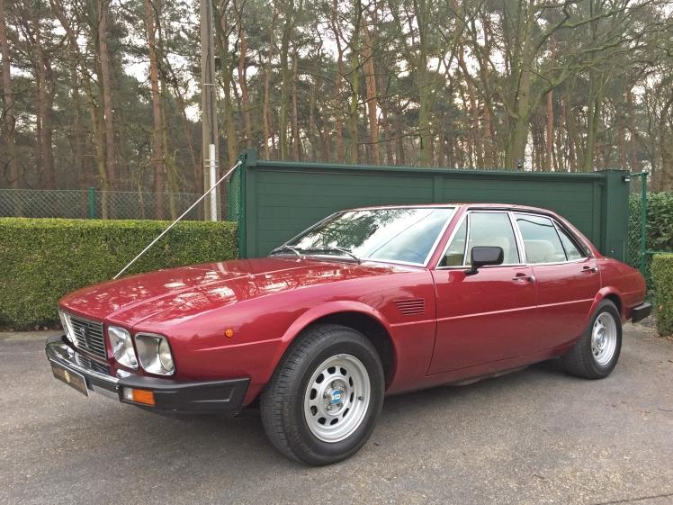 1982 De Tomaso Deauville Series II (front)