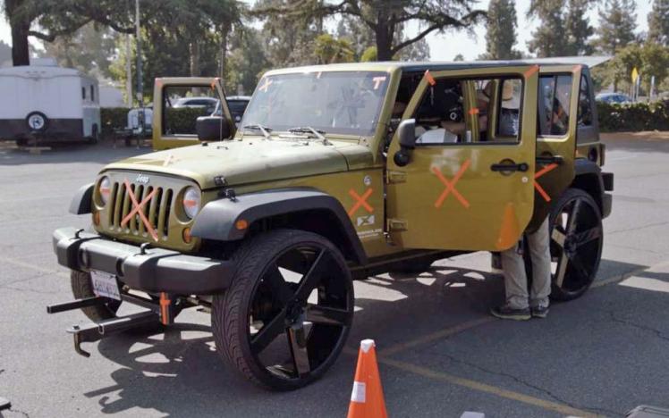 Westworld Jeep