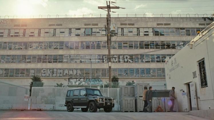 Westworld Mercedes-Benz G-Wagen