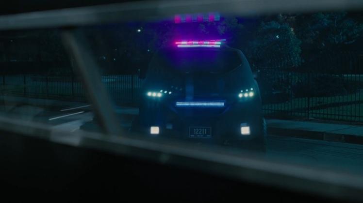 Westworld police cruiser