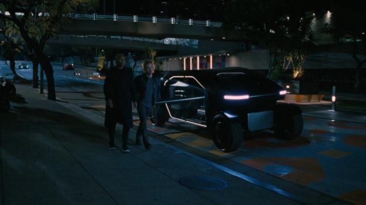 Westworld Rideshare autonomous car