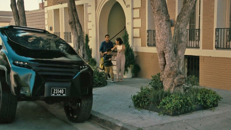 Westworld SUV Charlotte Hale