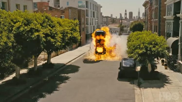 Westworld SUV Explosion